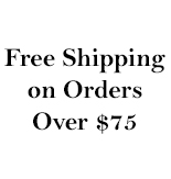 Free Shipping on orders $78 +