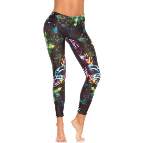 Tono a Tono Holiday Spirit Print Legging