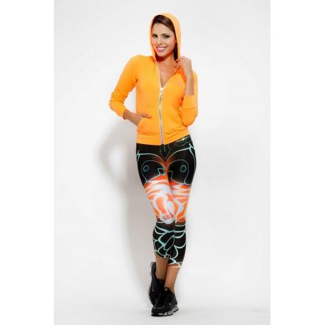 Tono a Tono Electric Carnival Print Legging
