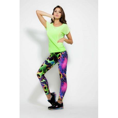Tono a Tono Rolling Rainbow Print Legging